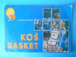 YUGOSLAVIAN OLD BASKETBALL ALBUM Kareem Abdul-Jabbar Magic Johnson Larry Bird Julius Erving Drazen Petrovic LA Lakers - Basketbal - NBA