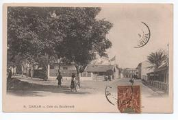 DAKAR (SENEGAL) - COIN DU BOULEVARD - Sénégal