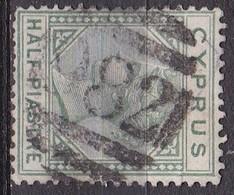 CYPRUS Cancellation 982 (Famagusta) On 1886 Queen Victoria Vl. 16 - Cyprus (...-1960)