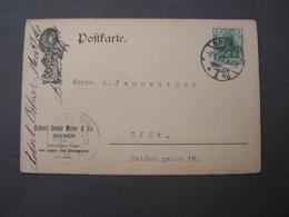 Bremen Karte 1907 - Germany