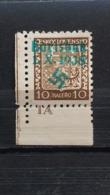 Sudetenland Karlsbad Mi-Nr. 2** MNH Postfrisch - Sudètes