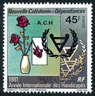 NOUV.-CALEDONIE 1981 - Yv. 451 **   Cote= 2,40 EUR - Année Intern. Des Handicapés  ..Réf.NCE25185 - Neufs