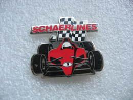 Pin's Formule 1. Sponsorisé Par Schaerlines - F1