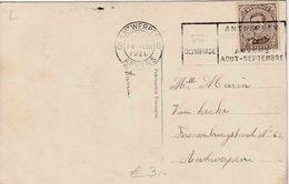 """OLYMPIC GAMES  ANTWERP 1920 : PK  """" ANTWERPEN 6  ANVERS 6   /  14.VIII.1920 """" + """"VII OLYMPIADE / ANTWERPEN / 1920"""" - Ete 1920: Anvers"""