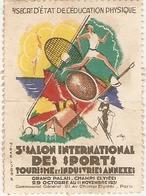 Vignette Du 5e Salon International Des Sports Au Grand Palais, Paris, Octobre Novembre 1931 - Sports
