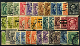Estados Unidos Nº 199/218. Año 1916/19 - Usados