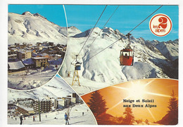 LES 2 ALPES.- Neige Et Soleil Aux Deux Alpes - France