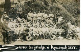N°926 T -carte Photo -souvenir Des Peluches à Kreuznach 1927-3è Bataillon Chasseurs Alpinsétat - Bad Kreuznach