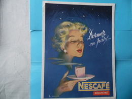 PUBLICITE   -   NESCAFE - Advertising