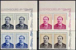 Luxembourg 1950. Michel #474/77 MNH/Luxe. Caritas. Johann-Anton Zinnen (1827/98), Composer (L14) - Nuevos