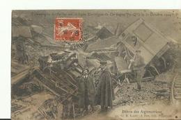 CATRASTROPHE DU PAILLAR  SUR LA LIGNE ELECTRIQUE DE CERDAGNE 1909 - France