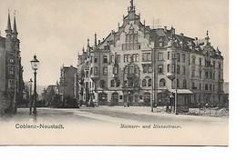 COBLENZ - NEUSTADT - Mainzer Und Rizzastrasse - Koblenz