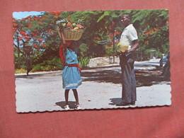 Fruit Merchant Kenscoff  Haiti     Ref 3796 - Haiti