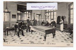 CPA - 94 - IVRY-sur-SEINE - SALLE De BILLARD à La FONDATION CHEMIN DELATOUR - CARTE RARE - Très Bel état - Jeux Et Jouets