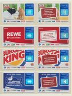 8 Payback Karten ( Jeweils Haupt- Und Zusatzkarte ) 4 Motive  !!!!   ( 28 ) - Andere Sammlungen