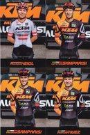 Cyclisme, 4 Cartes KTM 2019-2020 - Wielrennen