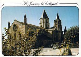 1 AK Frankreich * Saint-Junien Eine Ehem. Stiftskirche In Saint-Junien - Erbaut Im 12. Jh. * Département Haute-Vienne - Saint Junien