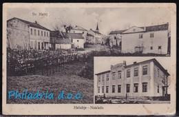 Sv. Matej (Istria), Mailed 1928 (stamp Removed), Slightly Creased, Soiled - Kroatien