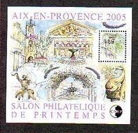 FRANCE BLOC CNEP N° 43 ** SALON PRINTEMPS 2005 AIX EN PROVENCE - CNEP