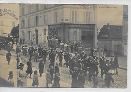 Saint-Cloud- La Saint-Fiacre En 1903-carte Photo - Saint Cloud