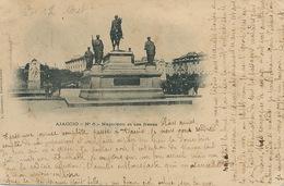 Ajaccio 6 Napoleon Et Ses Frères Edit Cardinali   1901 Vers La Rodde Puy De Dome Charlotte Et Madeleine Paillonney - Ajaccio