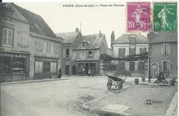 Voves,Place De L'Ancien 1928 - France