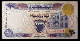 # # # Banknote Bahrain 20 Dinars 1973 # # # - Bahrein