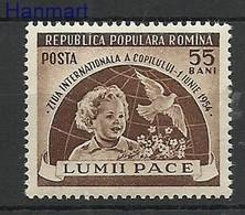 Romania 1954 Mi 1473 MNH ( ZE4 RMN1473 ) - Rumänien