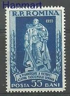 Romania 1955 Mi 1515 MNH ( ZE4 RMN1515 ) - Rumänien