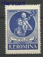 Romania 1955 Mi 1524 MNH ( ZE4 RMN1524 ) - Rumänien