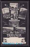Travnik, Mosaic Of Several Motifs, Mailed 1907 - Bosnien-Herzegowina