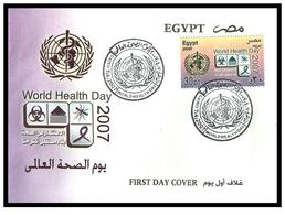 Egypt - 2007 - FDC - ( UN - World Health Day ) - Cartas
