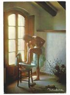 NU PHOTO SIGNE NIMATALLAH  - CARTE ECRITE - Voir Detail Annonce - Nudi Adulti (< 1960)
