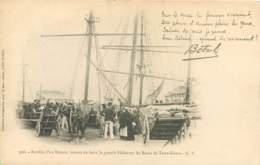 35 - SAINT MALO - Arrivée D'un Bateau Venant De Faire La Peche Sur Les Bancs De Terre Neuve En 1901 - Botrel - Saint Malo
