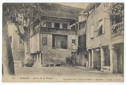 CPA 26 Drôme Romans Sur Isère Place De La Presle Près De Bourg De Péage Peyrins Genissieux Chatuzange Le Goubet Alixan - Romans Sur Isere