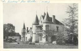 36 - CHAILLAC - Carte Photo Du Chateau Le Riadoux En 1921 écrite Par Le Propriétaire Lacroix - France