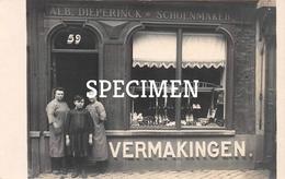 Fotokaart Alb. Dieperinck Schoenmaker - Bruges - Brugge - Brugge