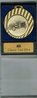 Luxembourg Médaille ACL (Classic Tour)2014 - Entriegelungschips Und Medaillen