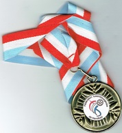 Luxembourg Coupe Finaliste 2008 - Entriegelungschips Und Medaillen