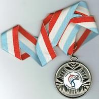 Luxembourg Coupe Finaliste 2008 Handball - Entriegelungschips Und Medaillen