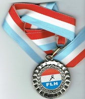 Luxembourg (FLH) 2006 Handball - Entriegelungschips Und Medaillen