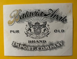 12323 - Batavia Arak Brand Import Company - Rhum