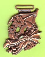 Pin's Disney Marathon 36K Dragon (Relief) Édition Limitée- 9P24 - Disney