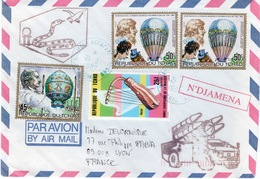 TCHAD - ENVELOPPE N'DJAMENA - DETACHEMENT CROTALE -ARMEE DE L'AIR - Tchad (1960-...)