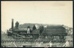 Locomotives Du P.-O. N° 1422 - Machine N° 619 (type 030) - Edit. H. M. P. - Voir 2 Scans - Trains