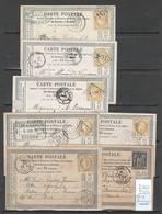 France - Lot De 13 Cartes Postales  Précurseurs - - Marcophilie (Lettres)