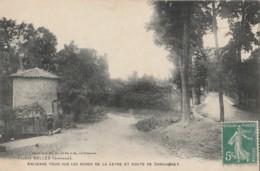 I8- 33) SALLES (GIRONDE) ANCIENNE TOUR SUR LES BORDS DE LA LEYRE ET ROUTE DE SANGUINET - (ANIMEE) - France