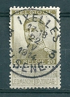 119 Gestempeld IXELLES -ELSENE 3 - 1912 Pellens
