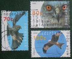 Roofvogels Birds, Oiseaux, Vogels NVPH 1649-1651 (Mi 1549-1551); 1995 Gestempeld / Used NEDERLAND / NIEDERLANDE - 1980-... (Beatrix)