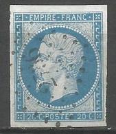 FRANCE - Oblitération Petits Chiffres LP 2736 ROSTRENEN (Côtes D'Armor) - 1849-1876: Période Classique